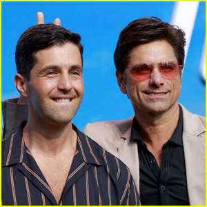John Stamos Gives Josh Peck Bunny Ears at 'Turner & Hooch' Premiere