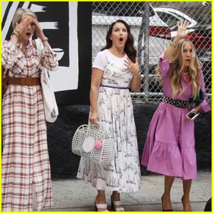 Sarah Jessica Parker, Kristin Davis & Cynthia Nixon Gasp Together in Shocking 'And Just Like That' Scene
