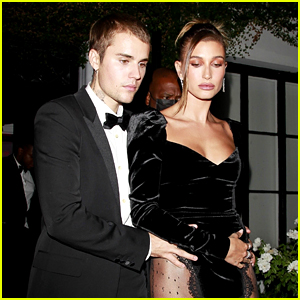 Justin & Hailey Bieber Look Incredible in These Photos from His 'Freedom Art Experience' Event