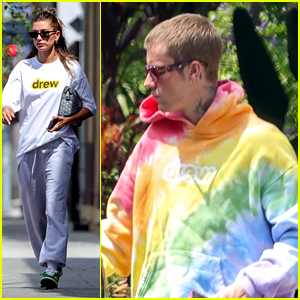 Justin Bieber Drops Hailey Bieber Off For Spa Appointment in LA