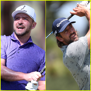 Justin Timberlake, Aaron Rodgers, & More Show Off Their Golf Skills at American Century Championship 2021