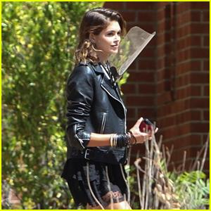 Kaia Gerber Spotted Back at the Murder House for 'AHS' Season 10 Scene!