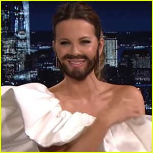 Kate Beckinsale Comes Into Her 'Sexual Element' With a Beard