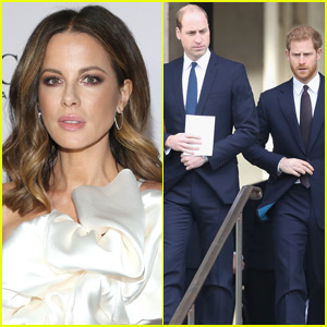 Kate Beckinsale Reveals the Reason She's Able to Relate to Prince William & Prince Harry