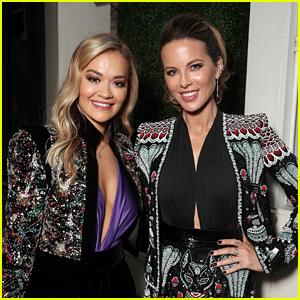 Kate Beckinsale Gets Support from Friend Rita Ora at 'Jolt' L.A. Screening!