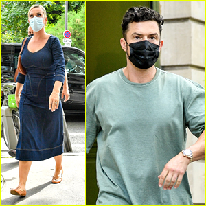 Katy Perry & Fiancé Orlando Bloom Get Some Shopping Done In Paris