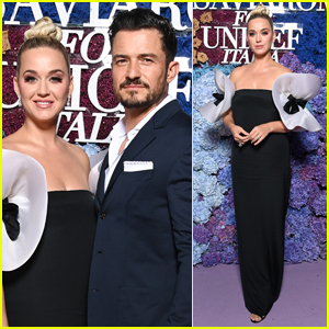 Katy Perry & Orlando Bloom Make Picture Perfect Couple at UNICEF Event in Italy