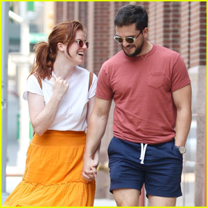 Kit Harington & Rose Leslie Look So Cute & Happy in These New Photos!