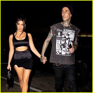 Kourtney Kardashian & Travis Barker Spark Marriage Rumors With Social Media Posts
