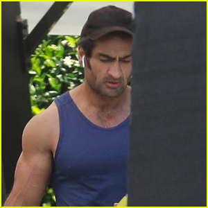 Kumail Nanjiani Gets His Workout In on Fourth of July!