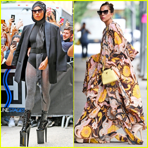 Lady Gaga Slays New York City in Two Super Chic Looks!