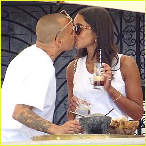 Laura Harrier Kisses Rumored New Boyfriend in Monaco