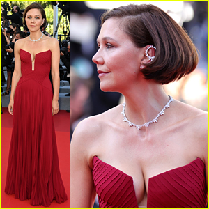 Maggie Gyllenhaal Joins Fellow Cannes Jurors at 'Benedetta' Red Carpet Premiere!