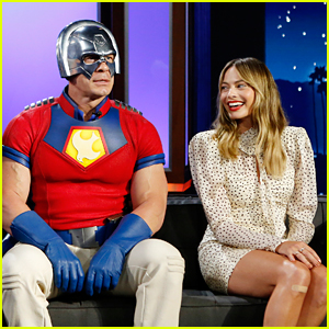 Margot Robbie Reveals the Hilarious History She Shares with John Cena, While Sitting Next to Him! (Video)