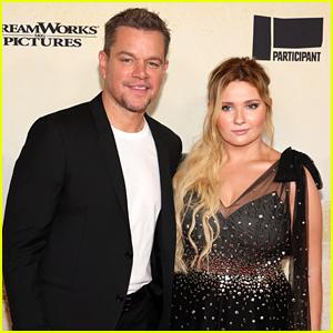 Matt Damon & Abigail Breslin Team Up for NYC Premiere of 'Stillwater' Movie!