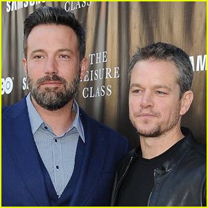 Matt Damon's Joke About Ben Affleck, Jennifer Lopez & Their 'True Love' Is Very Funny