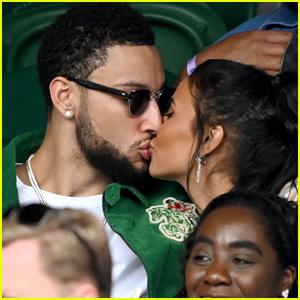 British TV Host Maya Jama Kisses & Cuddles Up To Basketball Star Ben Simmons