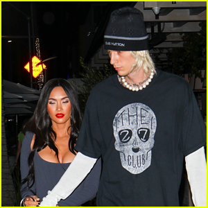 Megan Fox Goes on Date with Machine Gun Kelly After Taping Her 'Kimmel' Interview
