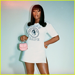 Megan Thee Stallion Stars in Coach's Campaign for BAPE Collaboration, Showcasing Cool Japanese Streetwear!