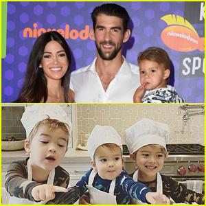 Michael Phelps' Wife & Kids - Cute Family Photos!