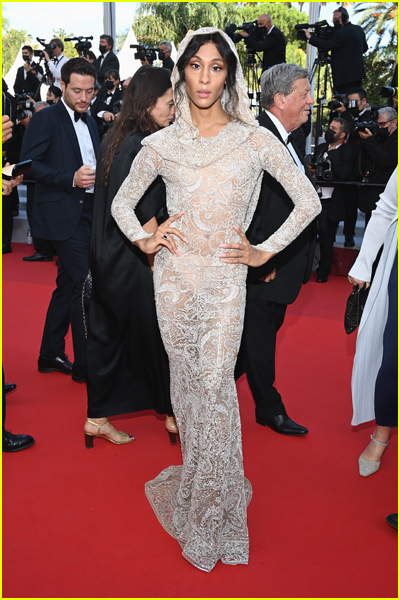 MJ Rodriguez at 2021 Cannes Film Festival