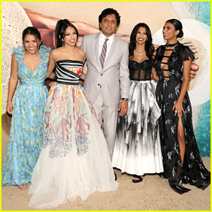 M. Night Shyamalan's Daughters Are All Grown Up & Gorgeous at the 'Old' Premiere