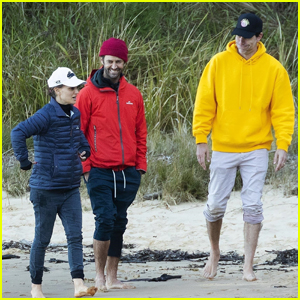 Natalie Portman & Husband Benjamin Millepied Take a Boat Trip With Sacha Baron Cohen in Australia