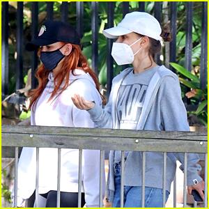 Natalie Portman & Isla Fisher Go On A Walk Together in Sydney