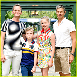 Neil Patrick Harris & Family Host an Outdoor Movie Screening at Their Hamptons Home!