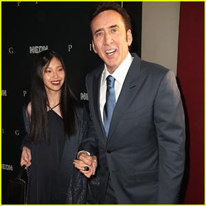 Nicolas Cage Brings New Wife Riko Shibata To 'Pig' Premiere in LA