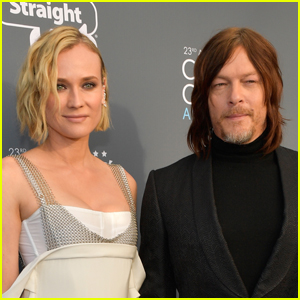 Norman Reedus Shares Cute Family Pic with Diane Kruger & Their Daughther!