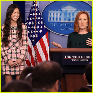 Olivia Rodrigo Is At the White House Today - Find Out Why & See the Pics!