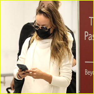 Olivia Wilde Returns to LA After Italian Vacation With Harry Styles
