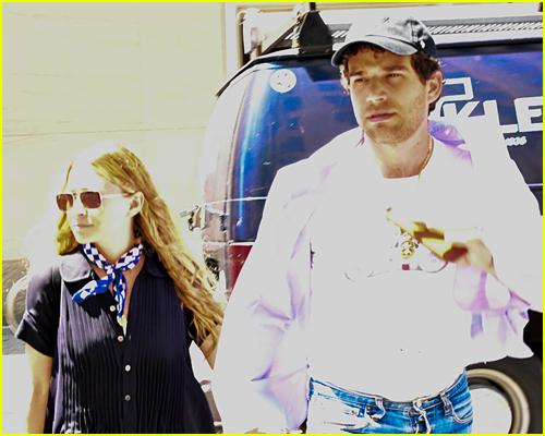 Ashley Olsen with boyfriend Louis Eisner