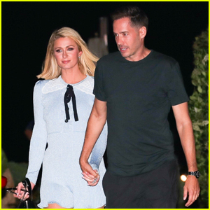 Paris Hilton & Fiance Carter Reum Hold Hands on Date Night!