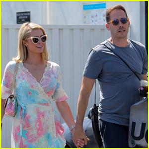 Paris Hilton & Carter Reum Do Some Shopping Together in Malibu