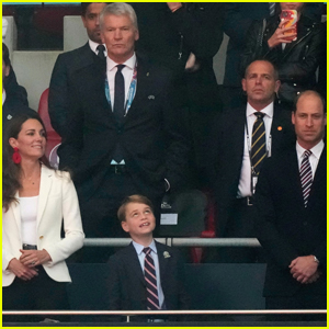 Prince George Joins His Parents Prince William & Kate Middleton at Euro 2020 Final!