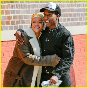 Rihanna & A$AP Rocky Look So In Love on Set of New Project in NYC!