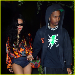 Rihanna & A$AP Rocky Enjoy a Dinner Date Together in Miami