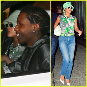 Rihanna Hits the Studio in NYC with Boyfriend A$AP Rocky!