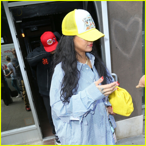 Rihanna & Boyfriend A$AP Rocky Spend Almost 10 Hours at the Recording Studio!
