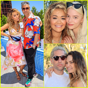 Rita Ora & Taika Waititi Make First Official Appearance Together at Her Star-Studded July 4 Party - See the Pics!