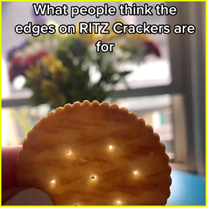 The Edges of Ritz Crackers Have A Secret Purpose That Will Blow Your Mind