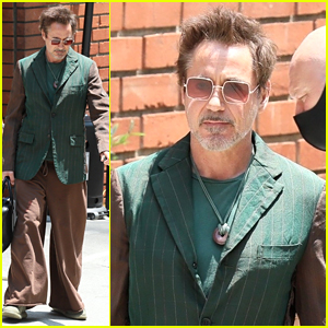 Robert Downey Jr. Steps Out in Eclectic Ouftit After Announcing Cool Casting News!