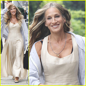 Sarah Jessica Parker Heads To 'And Just Like That...' Set As Three More Actors Join Cast