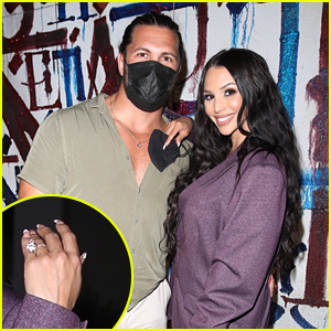 Scheana Shay Flashes Gorgeous Engagement Ring While Out With Brock Davies