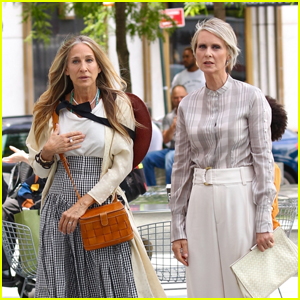 Sarah Jessica Parker & Cynthia Nixon Film First Scenes for 'Sex & The City' Reboot 'And Just Like That': See All the Set Pics!