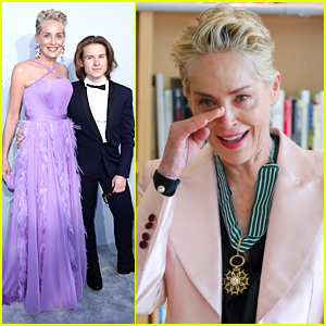 Sharon Stone Hits The amfAR Gala 2021 After Being Awarded The Commander of the Order of Arts & Letters During Cannes