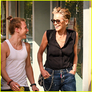Sharon Stone Makes Rare Appearance with Her 21-Year-Old Son Roan