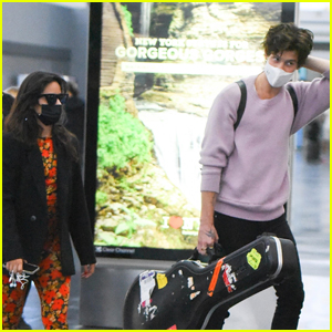 Shawn Mendes & Camila Cabello Couple Up for Trip to NYC